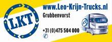 Reclame bord Leo Krijn Trucks